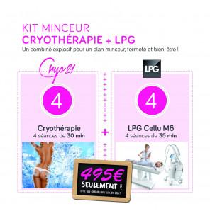 Kit Minceur         CRYO + LPG