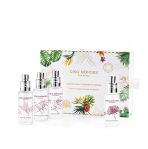 Collection eaux fraiches aromatiques 4*25 ml