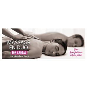Massage Duo à la bougie 30 min Offre St Valentin