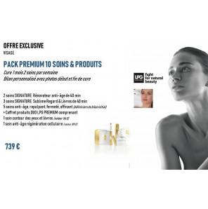Pack  (10 soins et 2 produits)